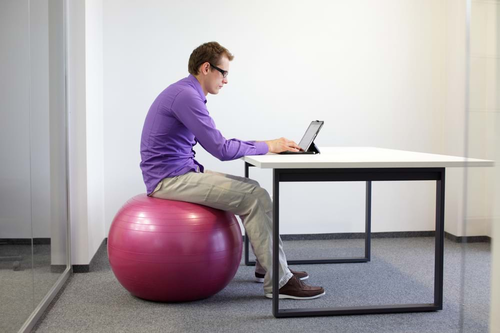 Which Is Best Office Chair Or Exercise Ball When Sitting